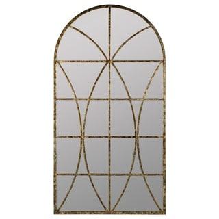Link to Copper Grove Etropole Windowpane Arch Wall Mirror Similar Items in Decorative Accessories