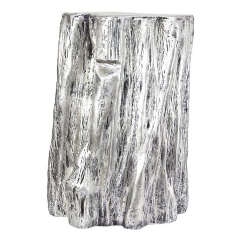 American Art Decor Tree Trunk Stool or End Table - Farmhouse Furniture