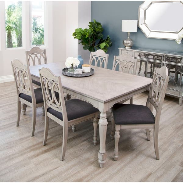 Abbyson Alfred Farmhouse Dining Table Overstock 26280809