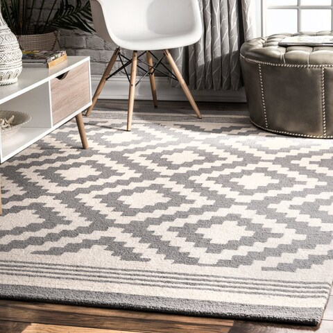 Carson Carrington Carrowdore Handmade Natural Fibers Moroccan Area Rug