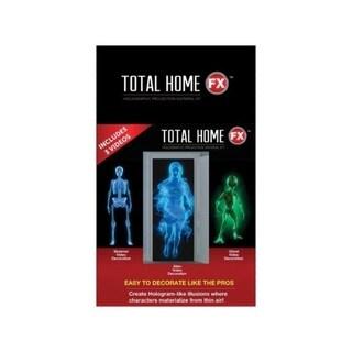 Total HomeFX 7-foot High x 4-foot Wide 3-effect Halloween Projector Videos