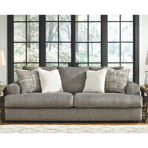 Tremendous Shop Signature Design By Ashley Soletren Ash Microfiber Sofa Onthecornerstone Fun Painted Chair Ideas Images Onthecornerstoneorg
