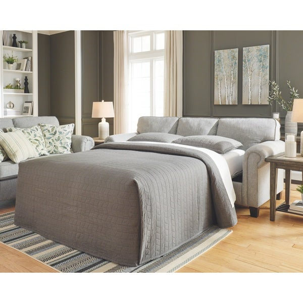 Signature Design by Ashley Alandari Grey Queen Sofa Sleeper
