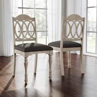 Abbyson Alfred Farmhouse Dining Chair (Set of 2)