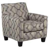 Signature Design by Ashley Torcello Gunmetal Fabric Chair