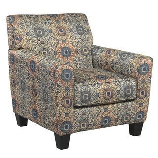 Signature Design by Ashley Belcampo Rust Fabric Chair