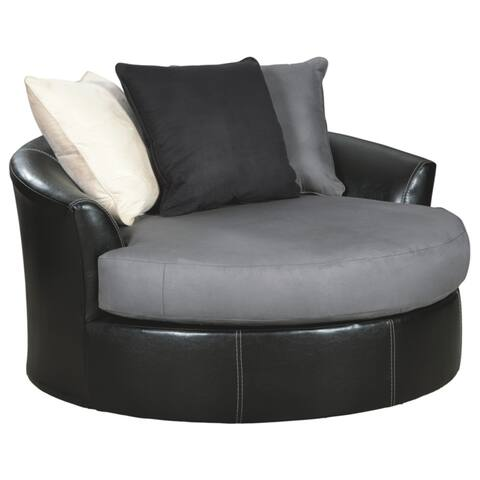 Jacurso Oversized Chair - Charcoal