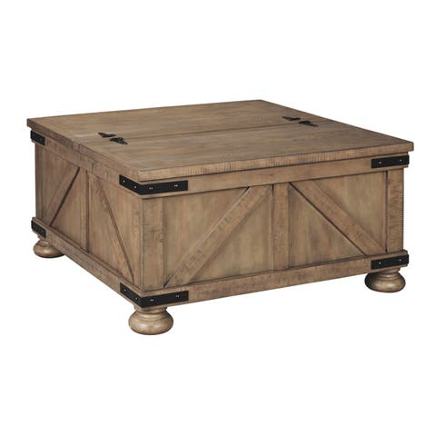 Aldwin Coffee Table - Gray