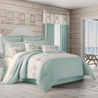 Royal Court Water's Edge 4 Piece Coastal Comforter Set