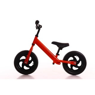 Toddler Pedal-Free Balance Bike - Red