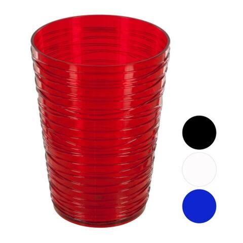 Bulk Buys 16 Oz. Small Modern Style Durable Plastic Tumbler - 24 Pack