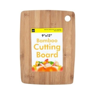Handy Helpers Durable Layered Bamboo Cutting Board with Round Corners - 4 Pack - N/A
