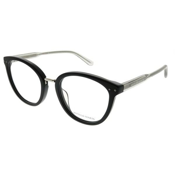 c01f605fbf6 Bottega Veneta Cat-Eye BV 0195O 001 Women Black Frame Eyeglasses