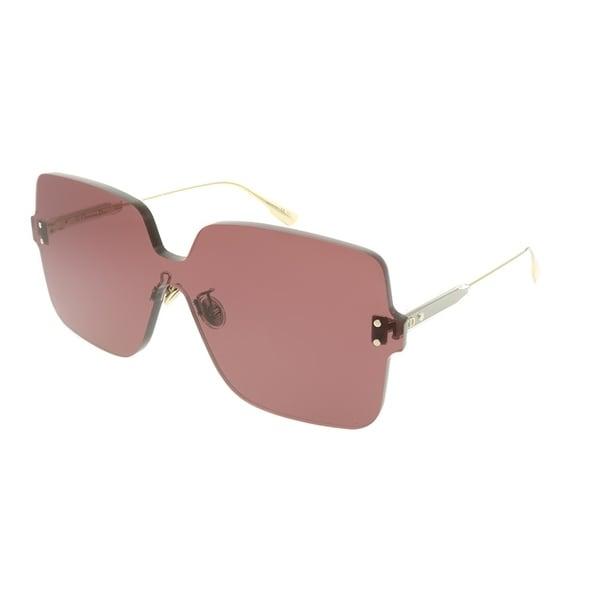 61622d2d20828 Dior Square Dior Color Quake 1 LHF U1 Women Opal Burgundy Frame Pink Lens  Sunglasses