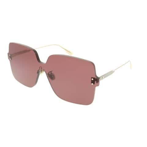 73ec5e555f0ac Dior Square Dior Color Quake 1 LHF U1 Women Opal Burgundy Frame Pink Lens  Sunglasses