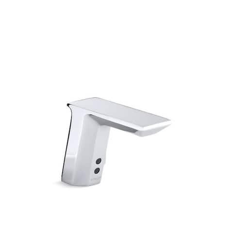 Kohler Geometric Polished Chrome Insight Touchless Bathroom Sink Faucet
