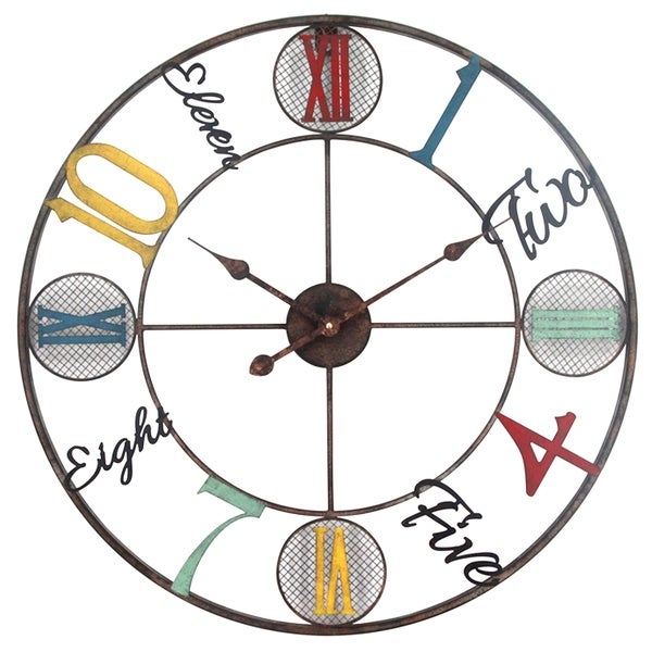 Yosemite Home Decor Whimsical Design Wall Clock - 1.8 x 26.8 x 26.8