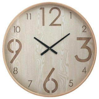 Yosemite Home Decor 'Chic II' Contemporary Wall Clock - 30 x 30 x 2.3