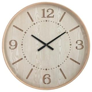 Yosemite Home Decor Contemporary Chic I Wood Wall Clock