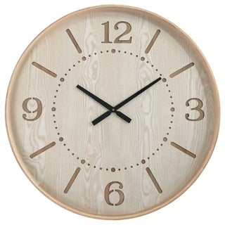 Yosemite Home Decor Contemporary Chic I Wood Wall Clock