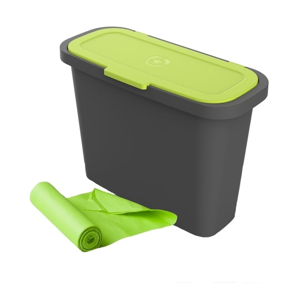 Maze Large 2.4 Gallon Kitchen Caddie with Corn Bags