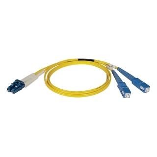 Tripp Lite 2M Duplex Singlemode 8.3/125 Fiber Optic Patch Cable LC/SC