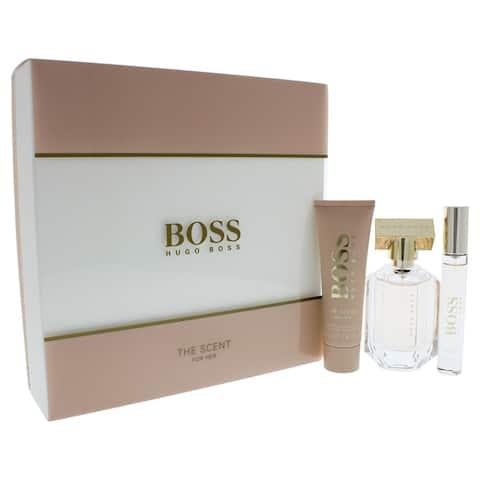 Hugo Boss The Scent Women's 3-piece Gift Set