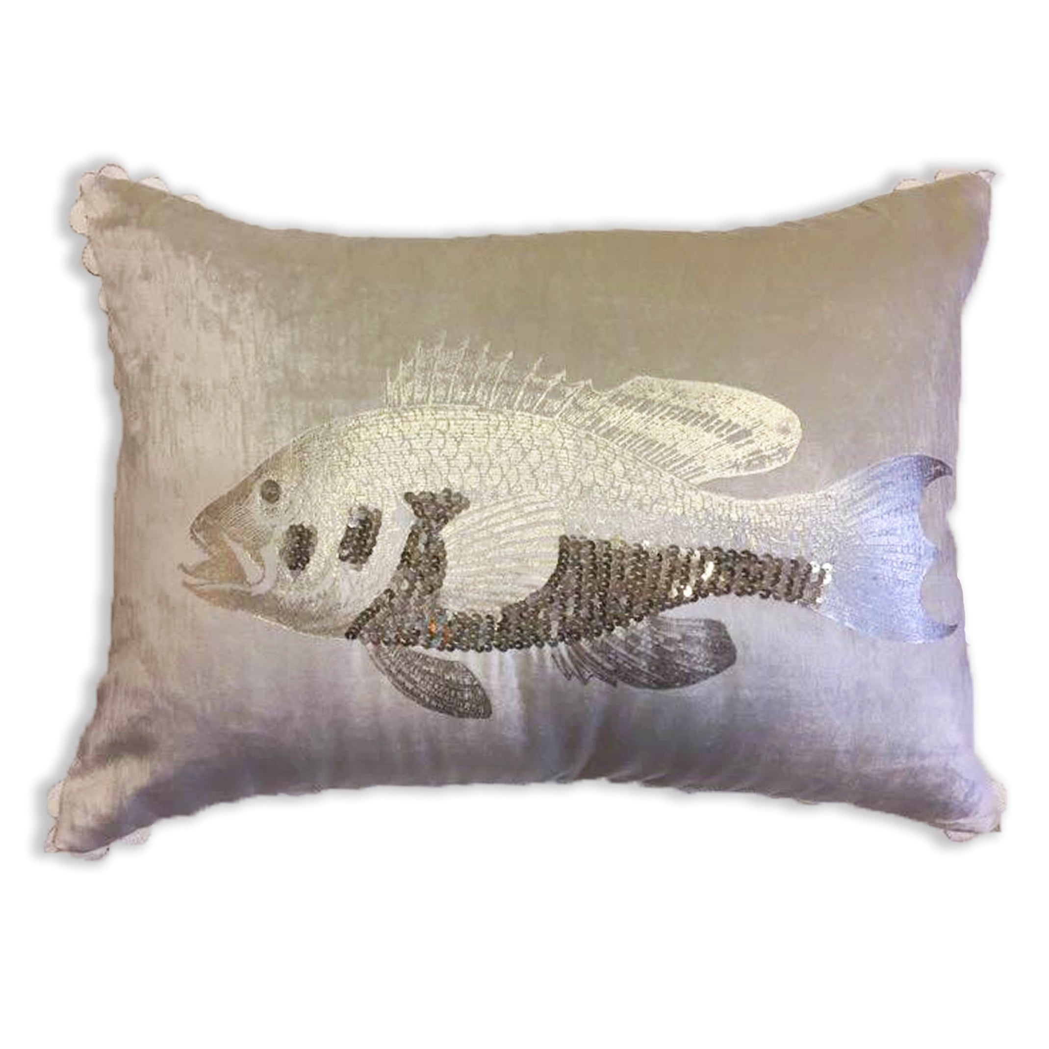 Gold Fish Decorative Pillow