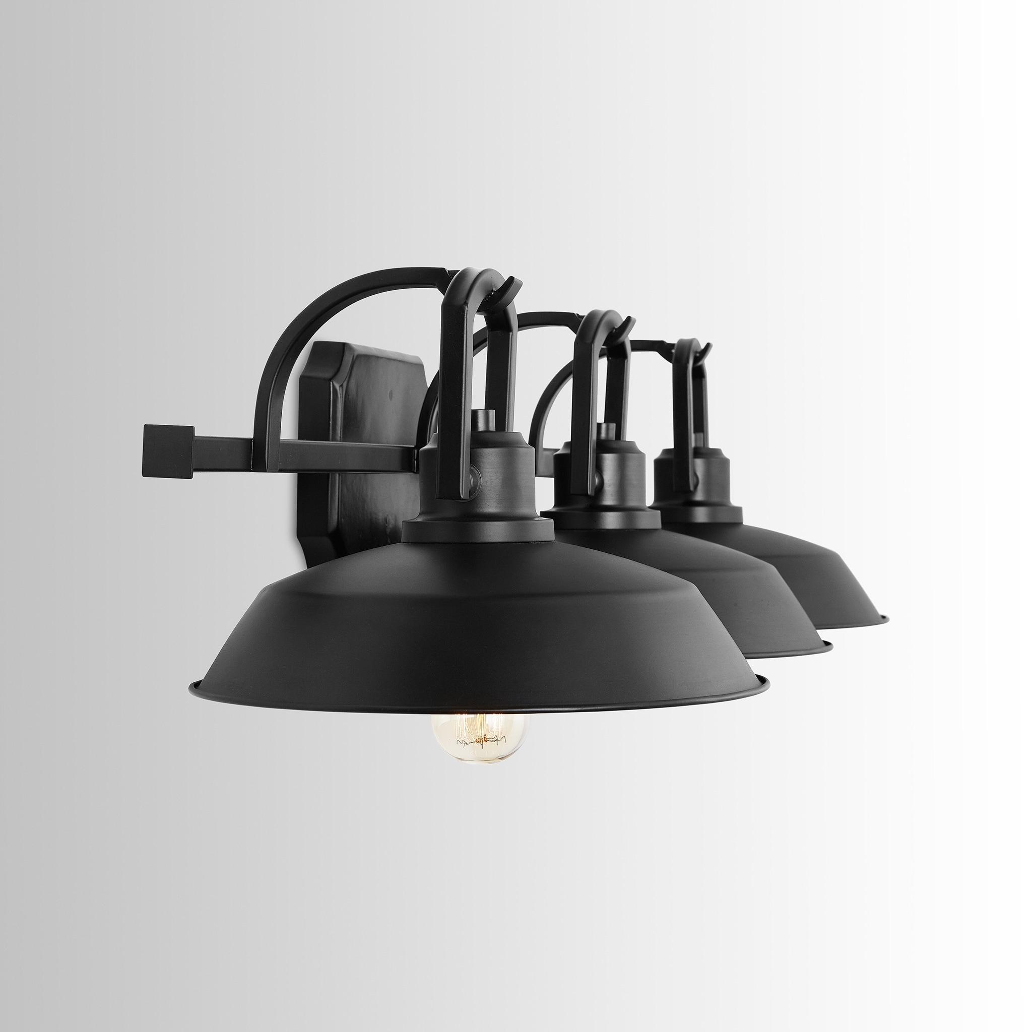 Image of: Shop Black Friday Deals On Carbon Loft Jennie 3 Light Matte Black Vanity Fixture Overstock 26284142