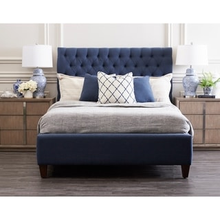 Isabelle Tufted Upholstered Bed by Avenue 405