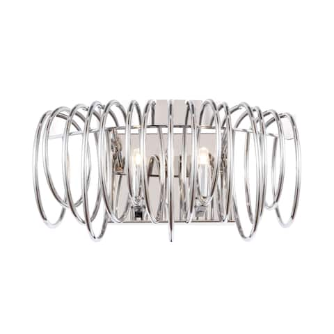 Woodbridge Lighting 20642 2-light Bracelet Wall Sconce