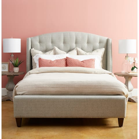 Audrey Tufted Upholstered Bed by Avenue 405