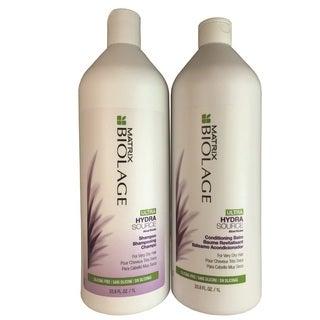Matrix Biolage Ultra HydraSource 33.8-ounce Shampoo & Conditioning Balm Duo