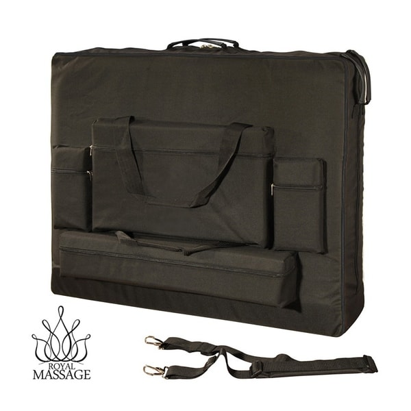 Royal Massage Deluxe Black Universal Oversized Massage Table Carry Case. Opens flyout.
