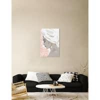Oliver Gal 'Bath Bomb Beauty III' Fashion Wall Art Canvas Print - White