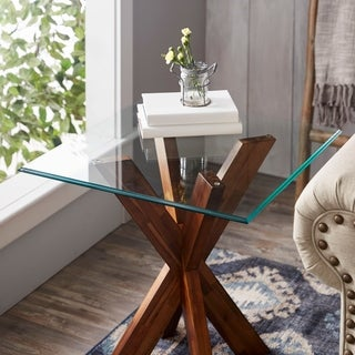 Sorra Square Tempered Table Top Glass