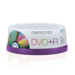 Memorex 16x DVD+R Media