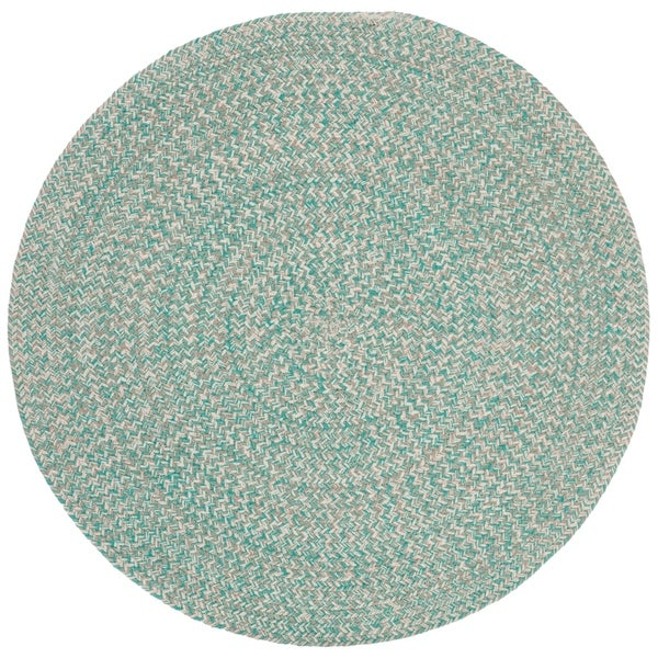 Teal Woven Rag Rug: Shop Safavieh Hand-Woven Braided Country