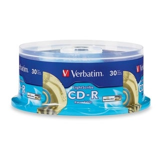 Verbatim 700MB CD-R Media (Spindle Pack of 30)