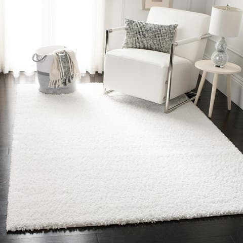 Safavieh August Shag Modern & Contemporary Ivory Rug