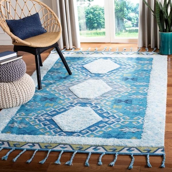 Safavieh Handmade Saffron Evelinde Modern Tribal Cotton Rug