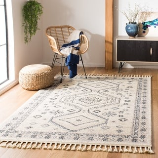 Safavieh Couture Hand-knotted Marrakech Floriana Traditional Oriental Wool Rug