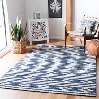 Safavieh Handmade Micro-Loop Rutt Wool Rug