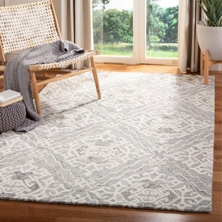 Safavieh Handmade Micro-Loop Quyen Wool Rug