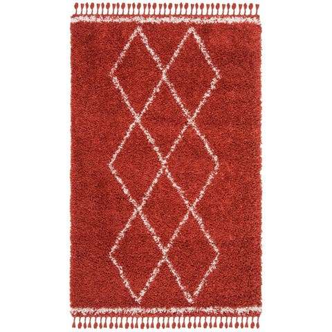 Safavieh Pro Luxe Shag Subinka Solid Rug
