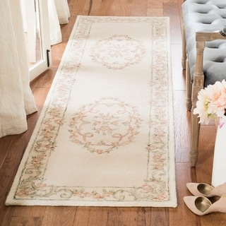 Safavieh Handmade Aubusson Kattie Traditional Oriental Wool Rug