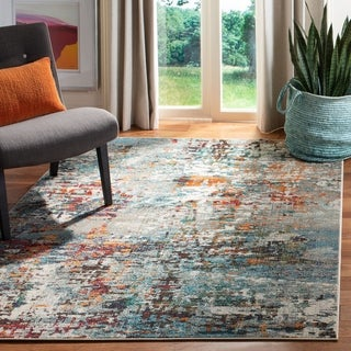 Safavieh Madison Poranna Vintage Boho Abstract Rug