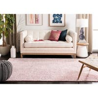 Safavieh Hand-Tufted Abstract Modern & Contemporary - Ivory/Pink Wool Rug - 5' x 8'