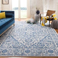 Safavieh Brentwood Traditional - Navy/Light Grey Rug - 10' x 13'