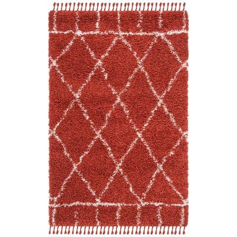 Safavieh Pro Luxe Shag Marella Solid Rug